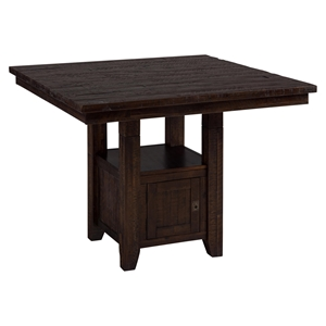pub tables bar sets accent table commercial kona grove fixed storage base chocolate ethan allen armoire grey geometric rug drop leaf with chairs black steel side concrete top