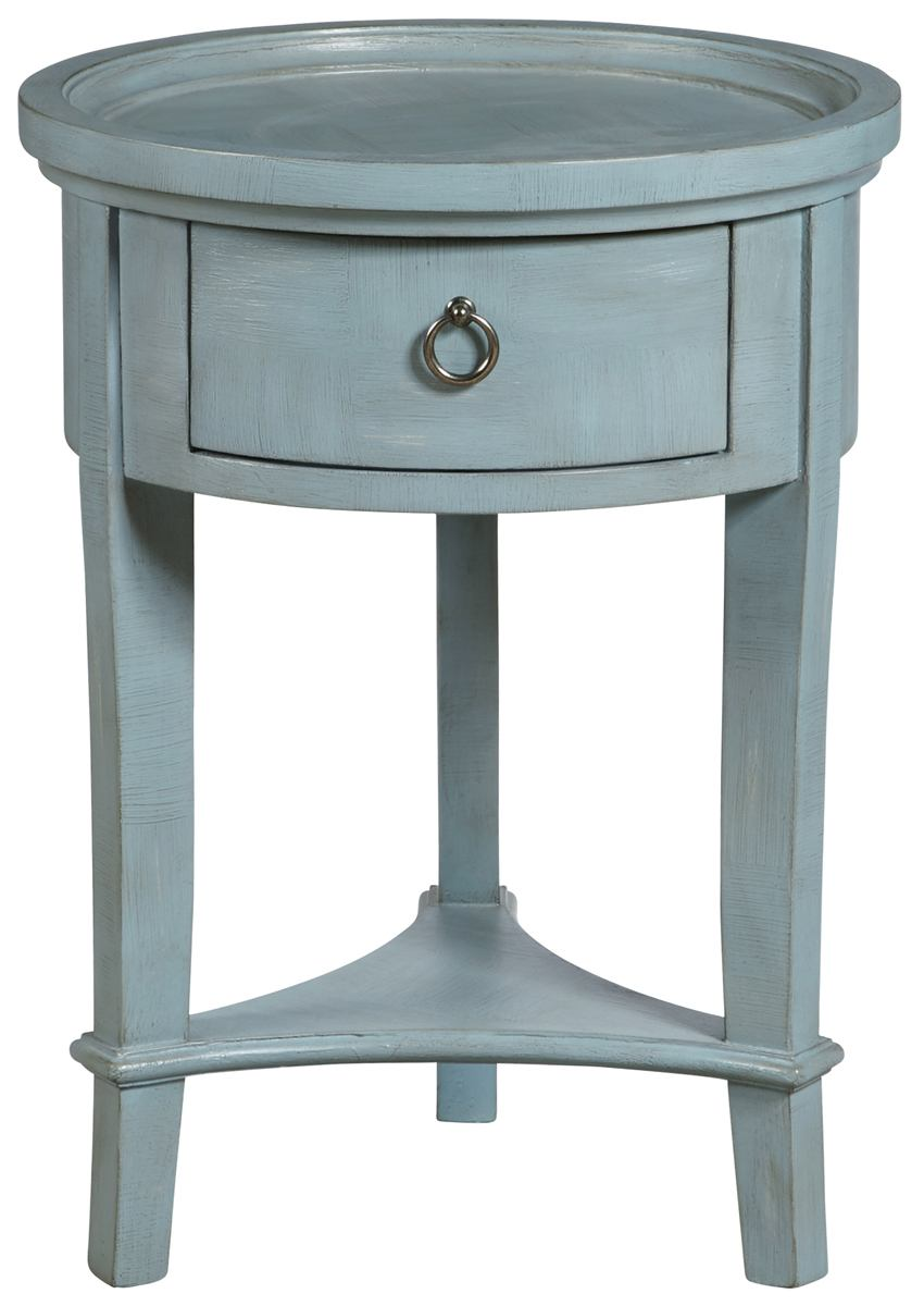 pulaski ach donna round accent table blue metal target pink marble counter height pub patio tiles outdoor stacking side tables light wood end pebble credenza furniture nic