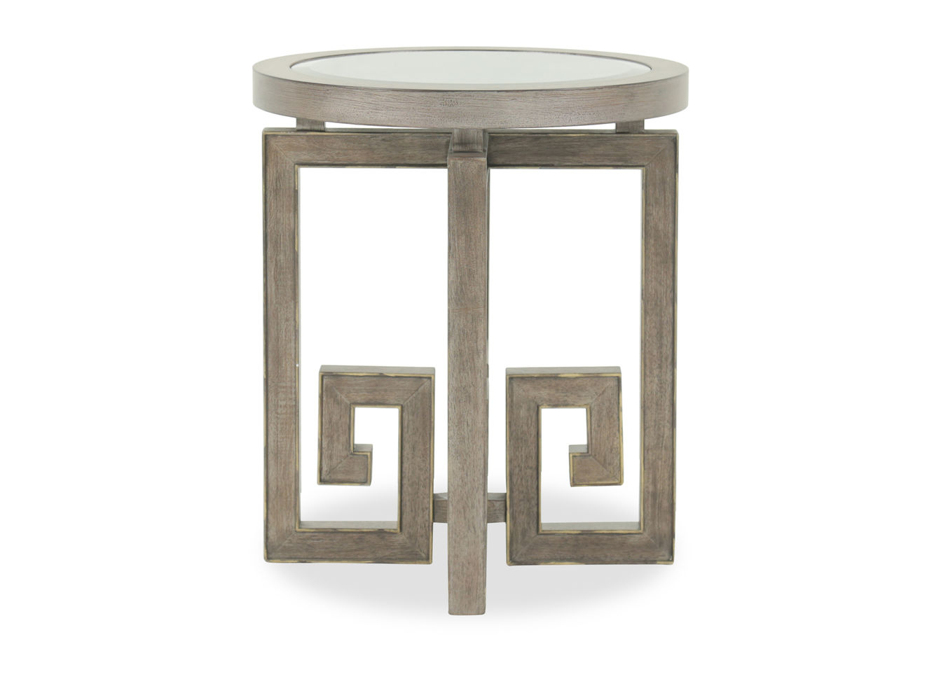 pulaski albyn brown round accent table mathis brothers furniture pul cupboards butler desk long decorative pearl drum throne with backrest cement outdoor dining marble occasional