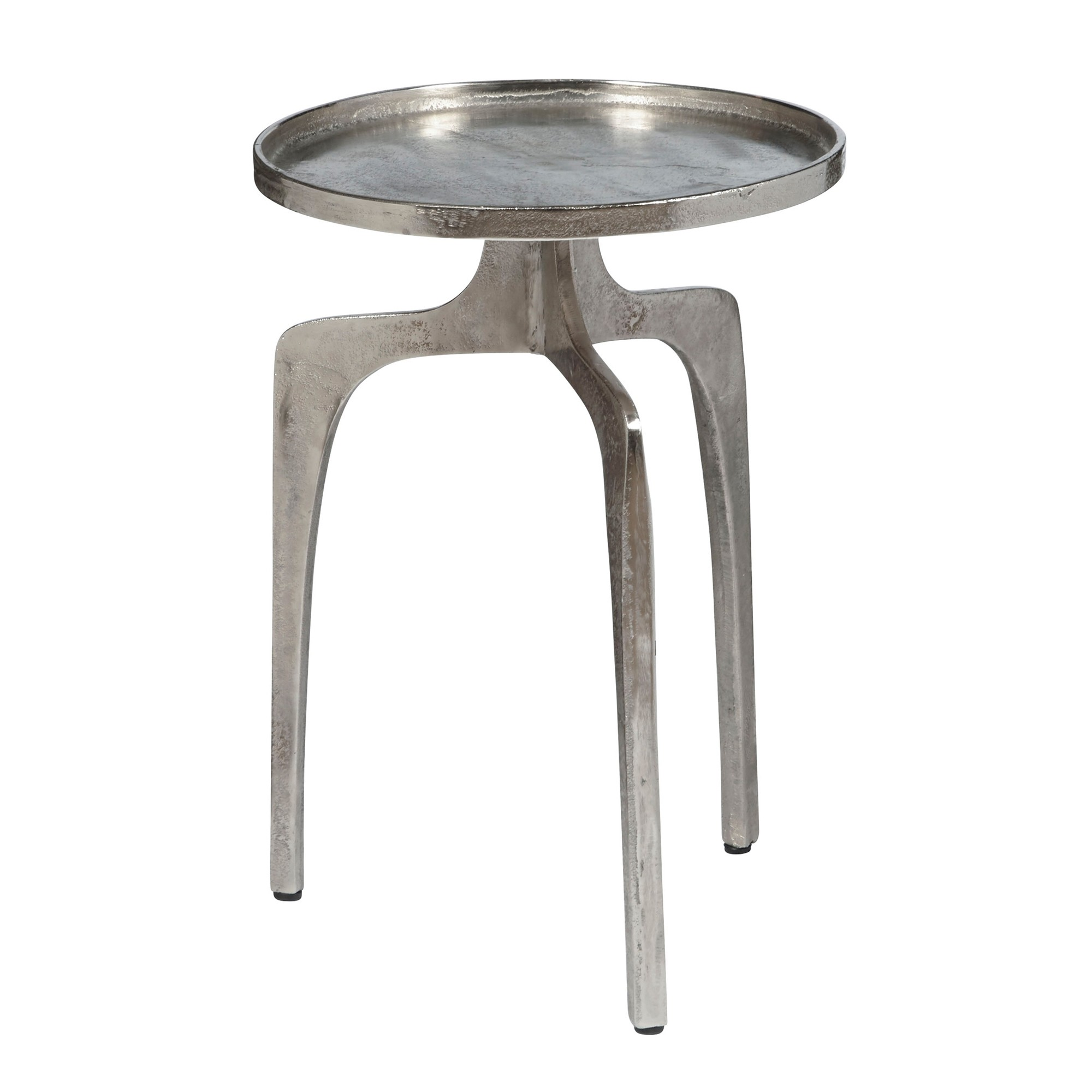 pulaski distressed silver round tray top accent table tepperman metal coffee kid runner home and deco cool tables ashley furniture desk plexiglass sun umbrella base large antique
