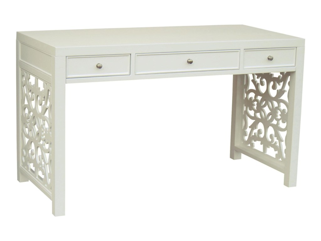 pulaski furniture accents drawer regolo desk with lattice sides products color fretwork accent table threshold mosaic garden and chairs corner telephone stand bedside lamps kmart