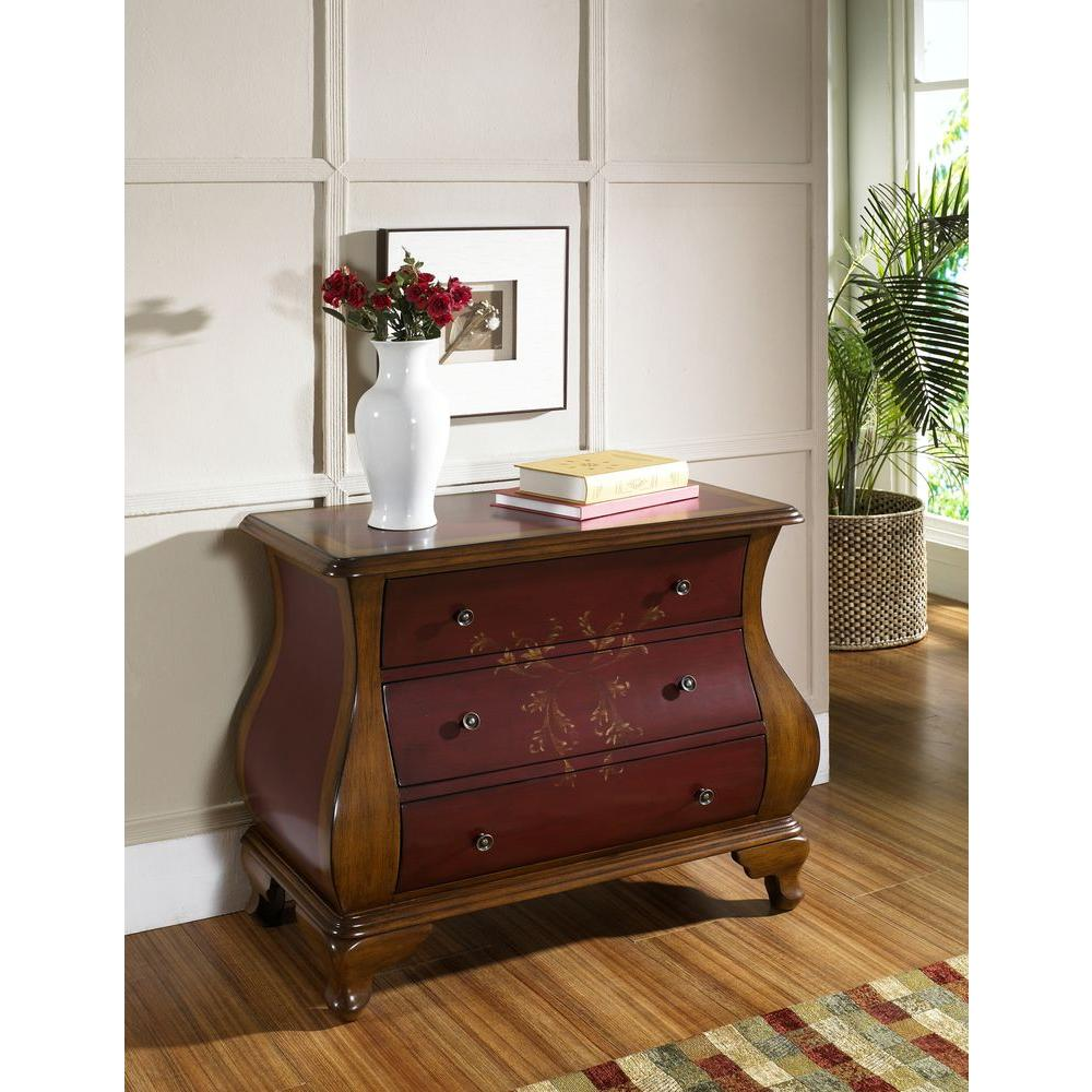 pulaski furniture red chest the entryway benches trunks painted accent tables chests grey wood dining table pedestal legs gold round end concrete look coffee color room doors pier