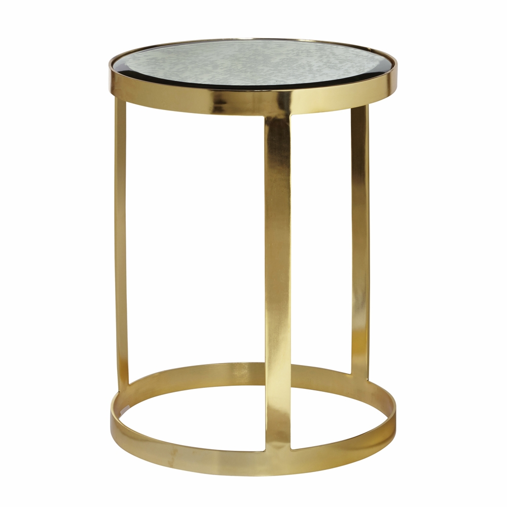 pulaski sandra gold accent table hover zoom mid century modern cocktail oak bar home accents dishes nautical island lighting silver occasional drop leaf folding exterior rustic