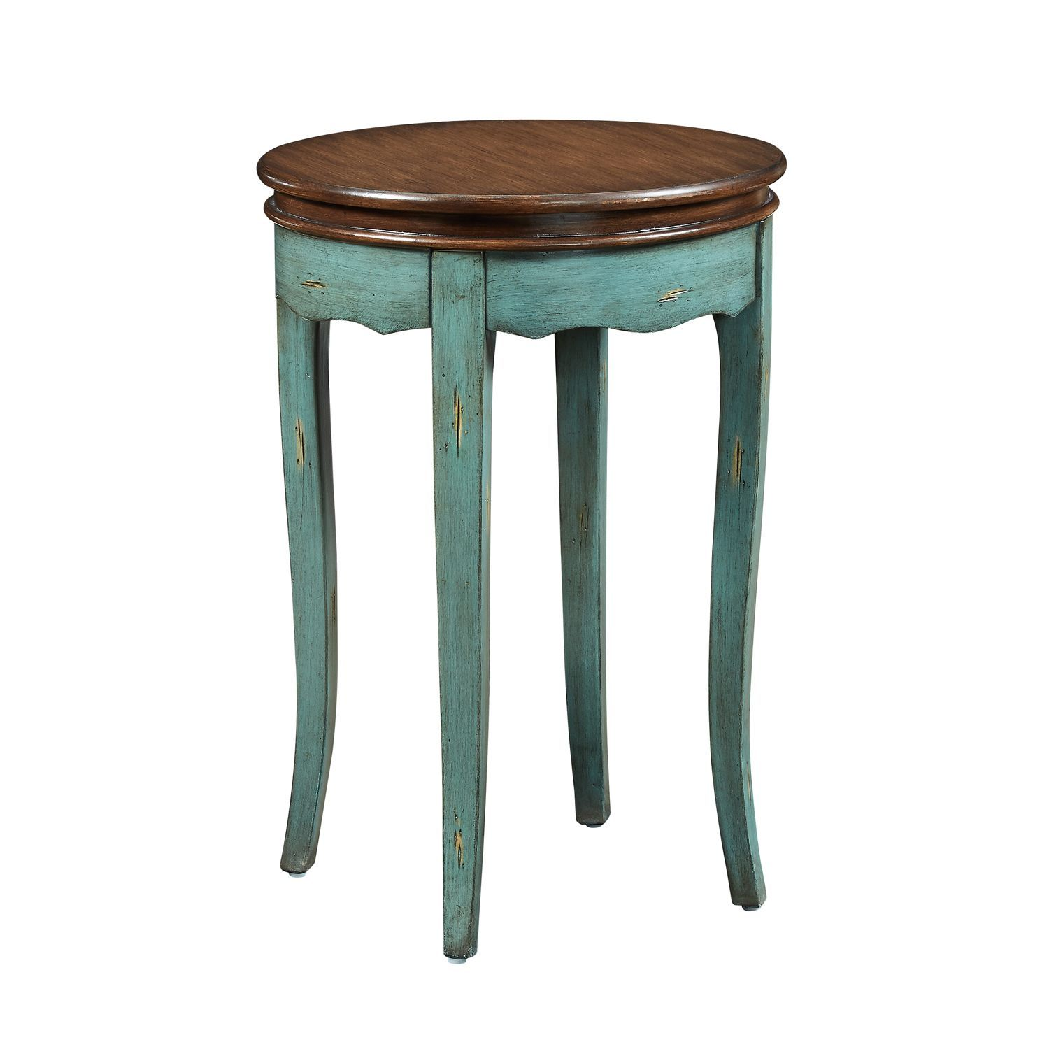 rachel teal round side table living room accent end blue and white umbrella square lucite drum throne parts modern nesting tables bronze glass coffee clearance dining chairs ikea