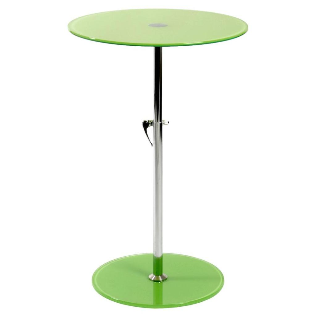 rafaella round glass side table green chrome plant stands and italmodern lime accent hanging chair bunnings floor tom legs black coffee with storage dale tiffany dragonfly lamp
