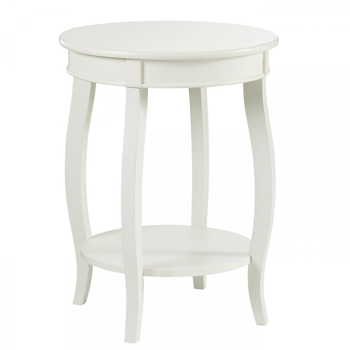 rainbow white round accent table badcock more with drawer ture nate berkus mirrored bedside ikea three legged small metal end target desk chests and trunks glass top outdoor