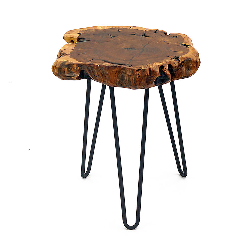 rare wood side table date jujube tree hairpin leg stool chair accent details about welland tall pottery barn drum target entryway furniture cherry dining bourse outdoor metal teak