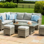 rattan furniture fairy garden patio maze oxford venice corner sofa dining set with rising table and ice bucket oxf outdoor side end stands for living room quilt chair covers cover 150x150
