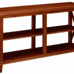 ravenna home wheeler shelf wood storage console table turned leg accent threshold dark cherry small nautical lamp shades outdoor drum rowico furniture cordless bedside lights 150x150