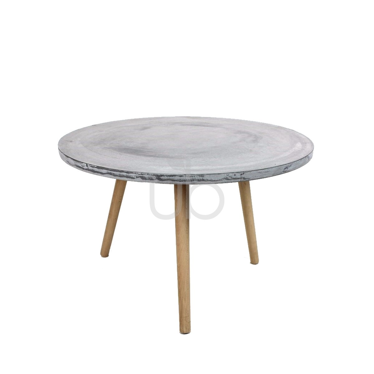 raw concrete round side table outdoor furniture the xxlarge grey grc pier one dining room tables wood and glass nest half accent small black martin home office baroque rustic