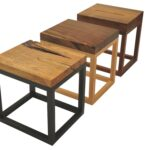 reclaimed solid wood accent tables contemporary rustic folk side rotsen furniture table end dering hall small cherry coffee mid century kitchen chairs patchwork runners free 150x150