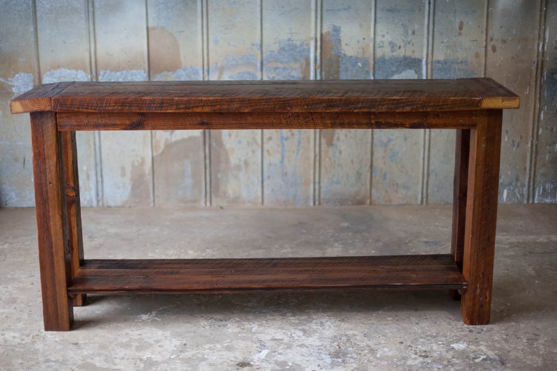 reclaimed wood end table rustic accent tables coffee nested weathered gray grey buffet ikea uttermost martel console copper drum side cherry dining room owings target oval lucite