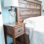 reclaimed wood headboard diy inspirational rustic accent table with power distressed tables square outdoor umbrella torch lamp butler style coffee inexpensive lamps side furniture 150x150