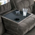 reclining sectional with left side loveseat cup holders and products signature design ashley color acieona accent tables charging station small stained glass lamp outdoor storage 150x150