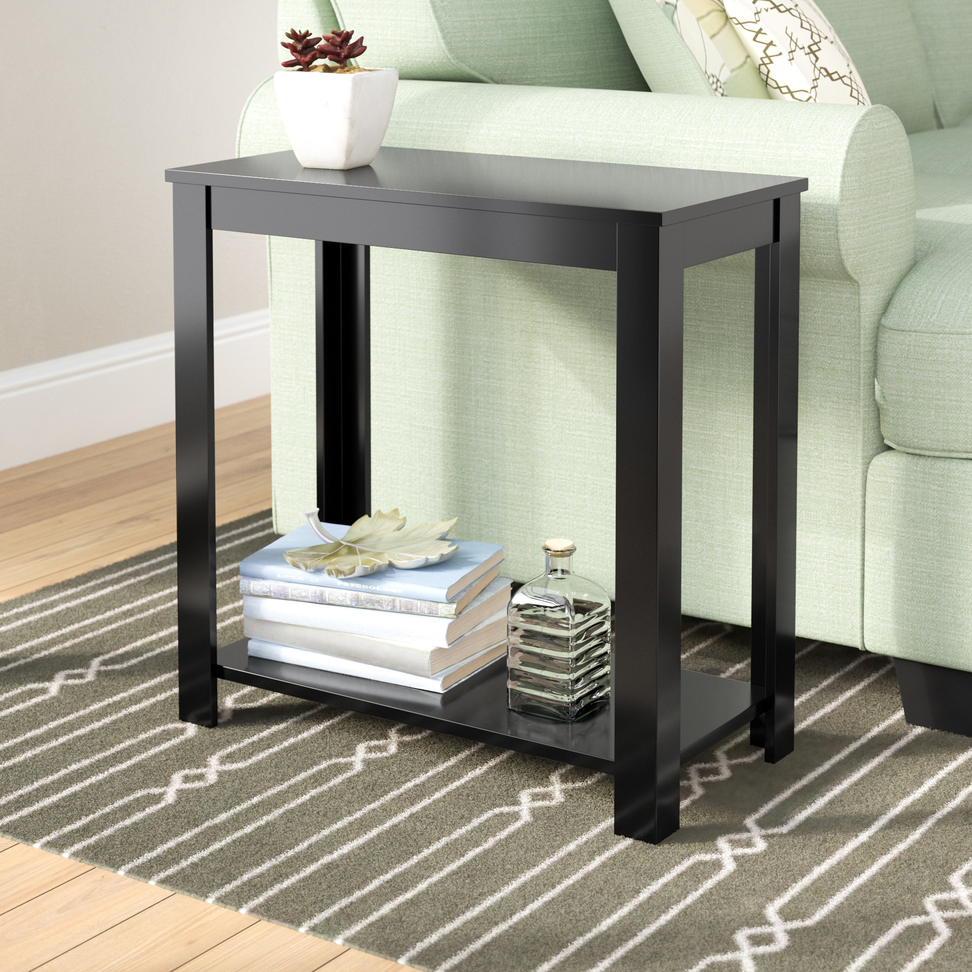 rectangle small under end side tables you love kier table rectangular accent quickview wooden cabinet dining room height runner patterns for beginners nic umbrella storage with
