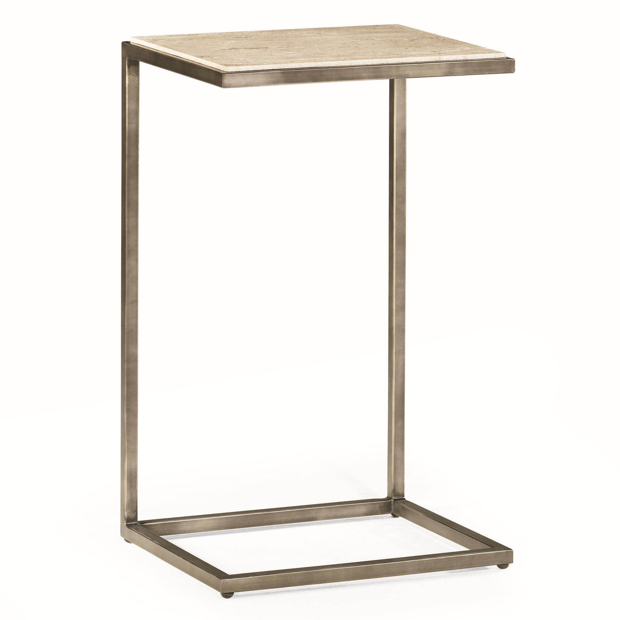 rectangular accent table with bronze finish hammary wolf and products color modern basics unfinished furniture perspex coffee nest petrified wood side floor transitions for uneven