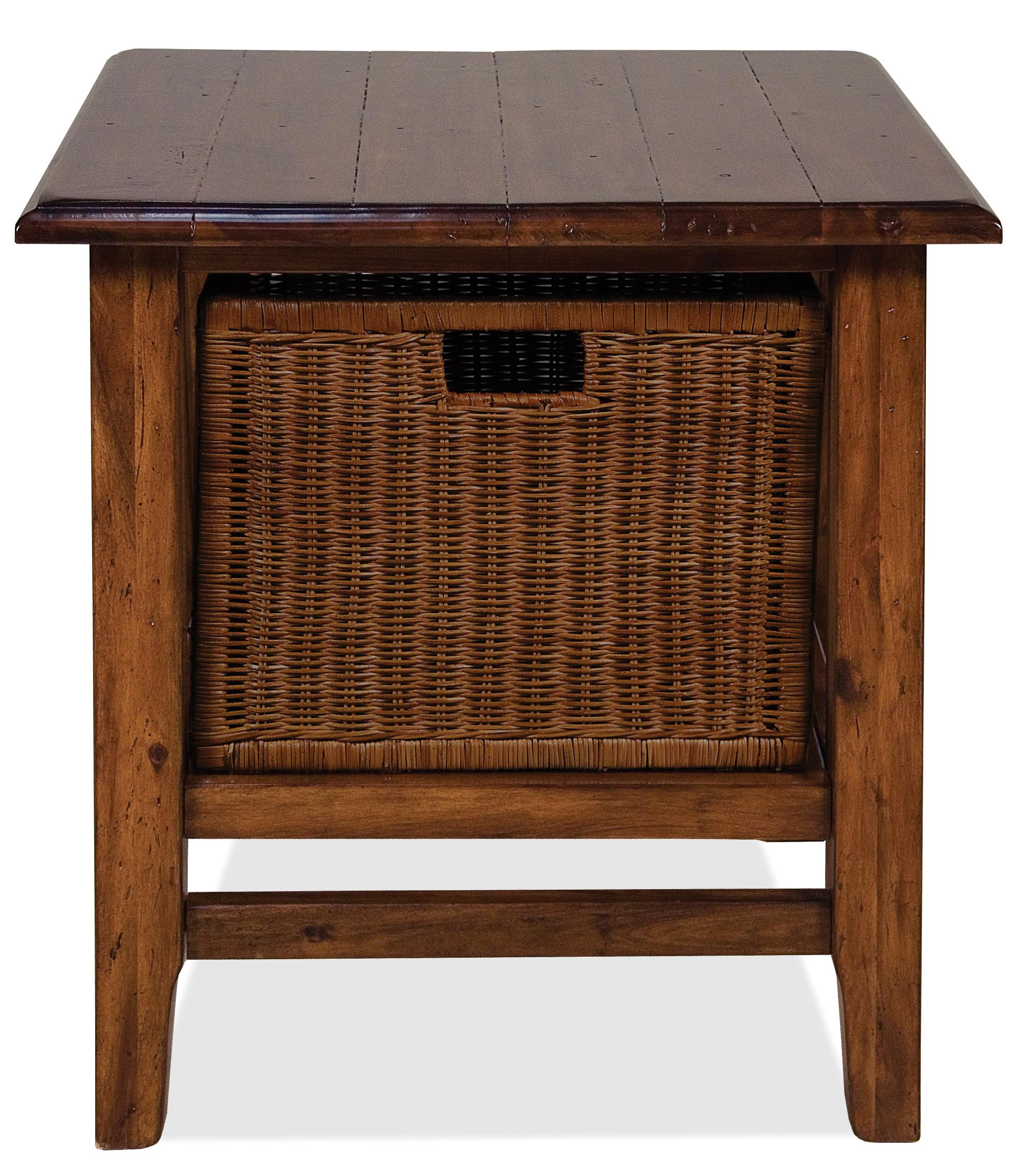 rectangular end table with storage basket oval accent wicker baskets kitchen green narrow hallway pier dining mirrored cube side high dorm room drop leaf drawer battery operated