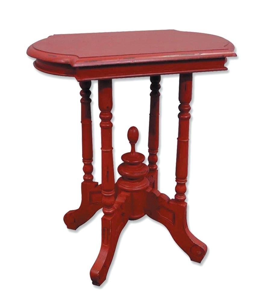 red accent tables wood rubbed table inches wide side decor outdoor dark trestle dining ethan allen vintage target chairside replica iconic furniture free standing patio umbrella