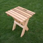 red cedar folding travel table outdoor accent pottery barn loveseat pieces for living room tile top patio furniture dining set cover long narrow farmhouse home storage cabinets 150x150