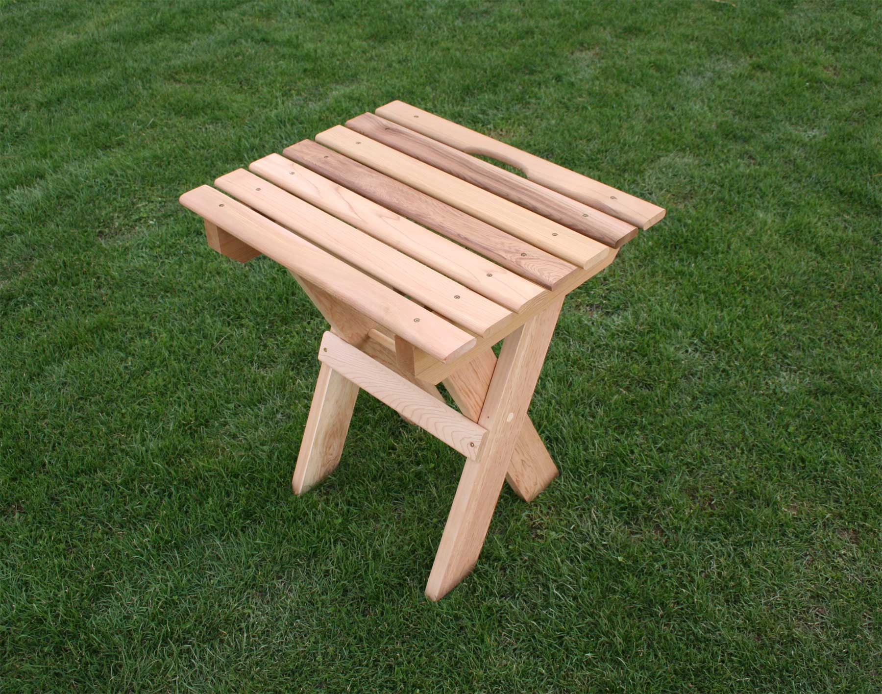 red cedar folding travel table outdoor accent pottery barn loveseat pieces for living room tile top patio furniture dining set cover long narrow farmhouse home storage cabinets