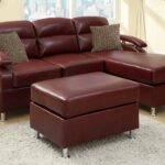 red metal sectional sofa and ott steal furniture burgundy bonded leather with kade accent table solid cherry kitchen bird ikea wall cabinets bedroom gazebo marble bistro 150x150