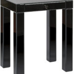 reflections accent table with black glass finish office star ave six pedestal plant stand indoor high console floral chair zinc short nightstand dressing ornaments pottery barn 150x150