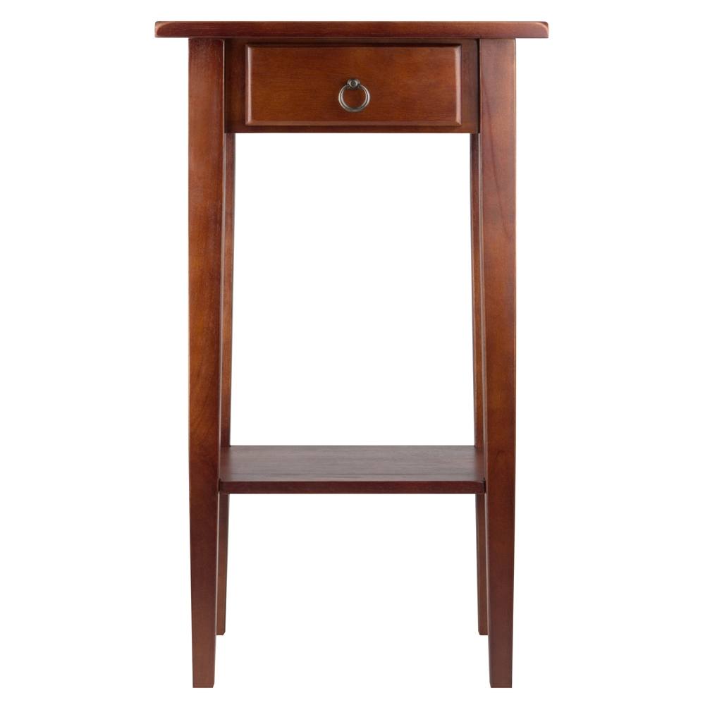 regalia accent table drawer winsome wood hairpin dining modern contemporary coffee bedroom furniture sets butler side glass light shades brown leather chair oak door strip pier