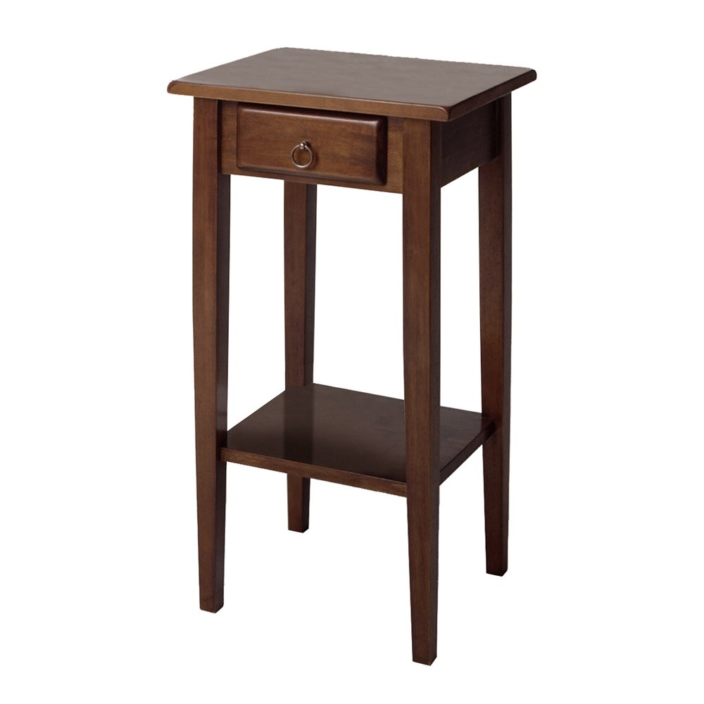 regalia accent table with drawer shelf npregalia and mid century modern furniture end tables square coffee toronto rose gold placemats chair backyard patio buffet barn doors