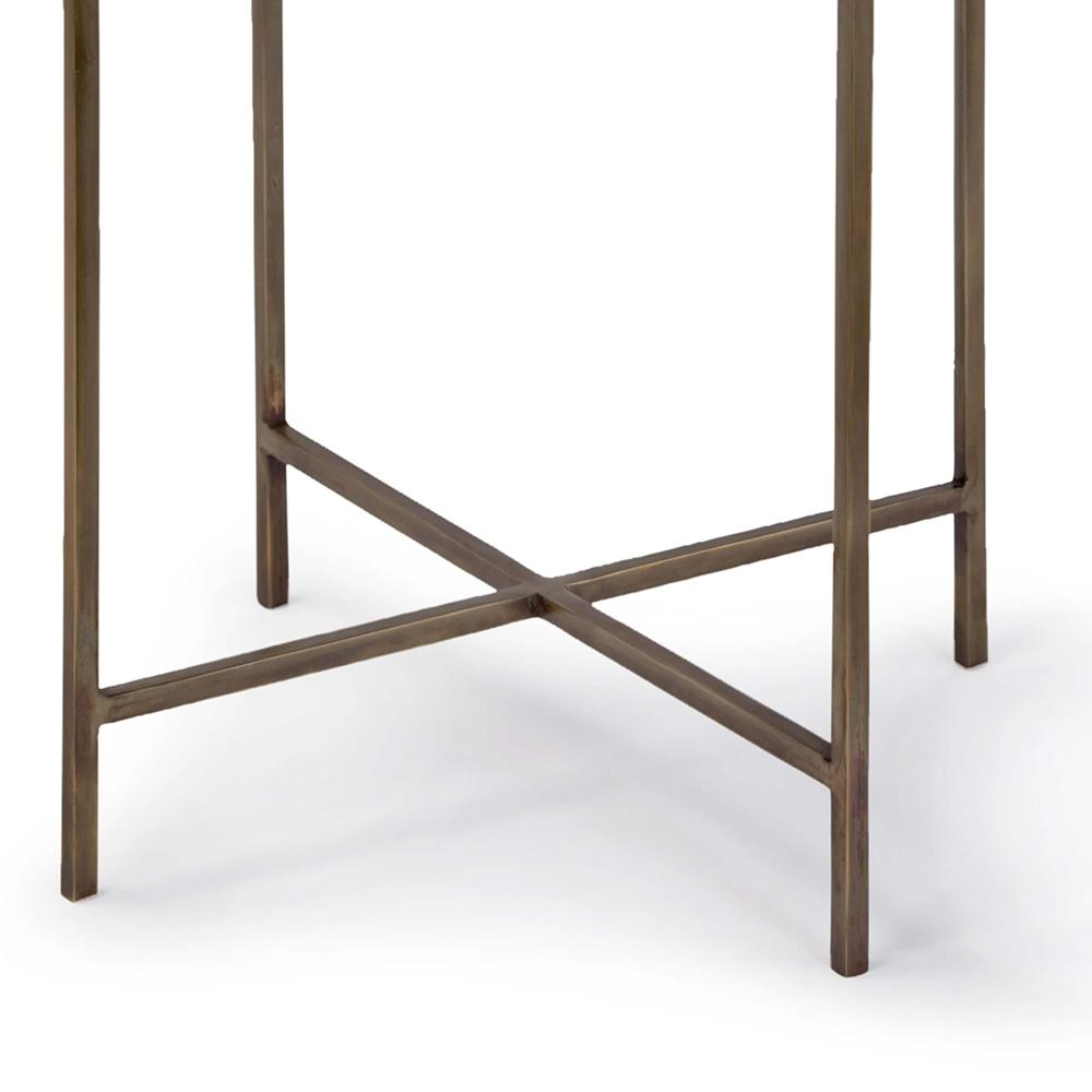 regina andrew bone drum side table antique brass accent modern furniture for small spaces outside patio chairs white mirrored coffee plant outdoor wicker silver ice bucket plain