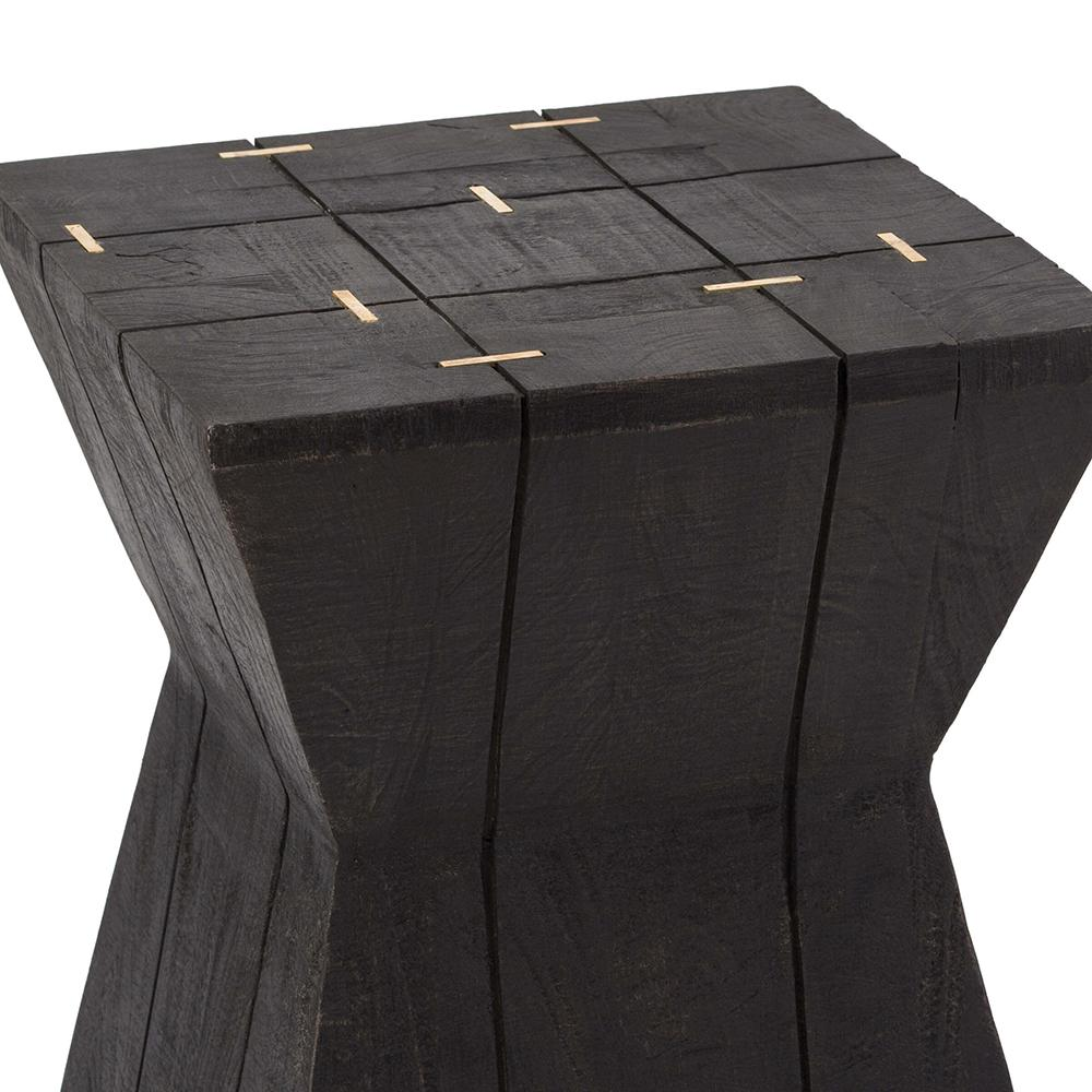 regina andrew industrial accent table stool ebony slide bolt indoor bistro teak sofa canadian tire outdoor ashley furniture counter height dining black chairs white side paint