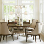 regis round dining table lexington home brands wood accent five below tower place homesense bar stools circular patio cover sterling and noble clock living room drawing mid 150x150