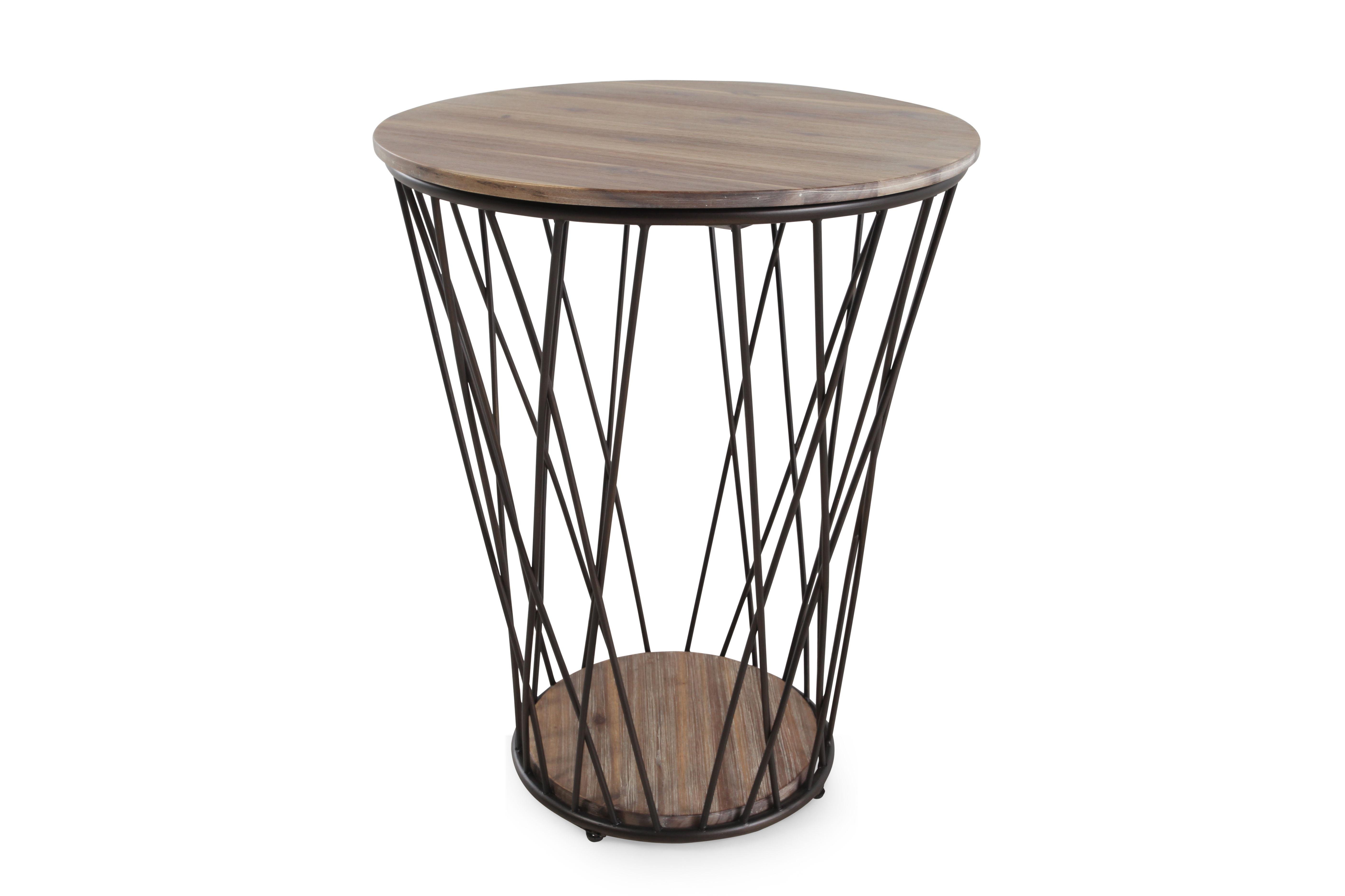 remarkable small round wood accent table square oak tripod twist drum oval mango below unfinished natur pressed rustic twisted tables bengal lani target wooden five faux metal