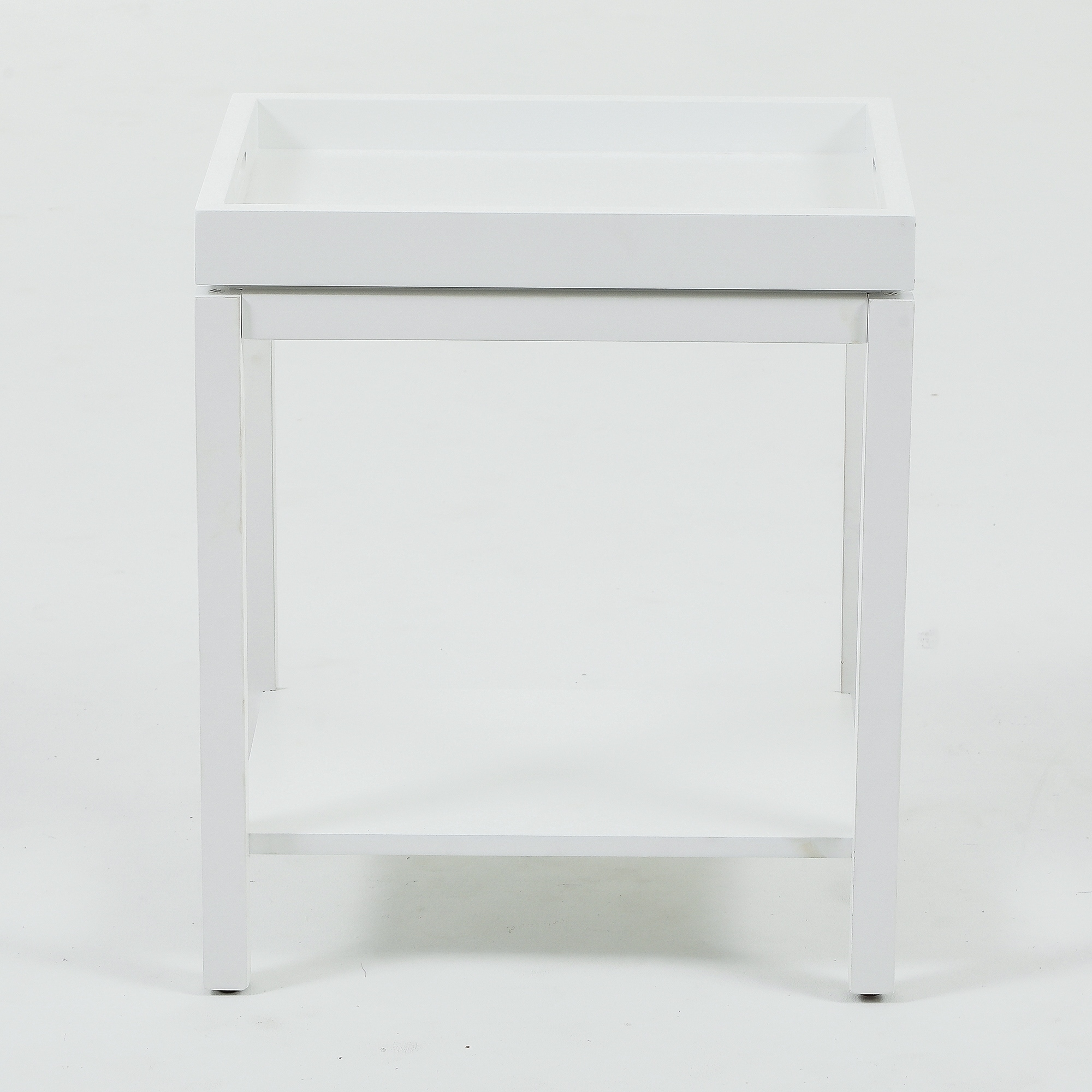 removable tray top shelf modern end table free white gray accent with shipping today vintage french bedside tables cabinets chests furniture wicker side glass cordless battery
