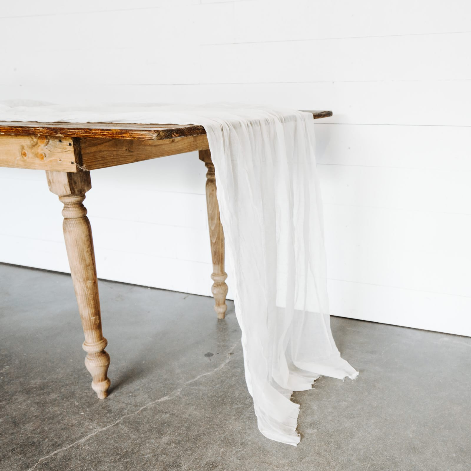 rentals loot design and styling for weddings lootvintage harrietta piece accent table set raw cheesecloth runners side tables living room small metal end black gloss nest aluminum