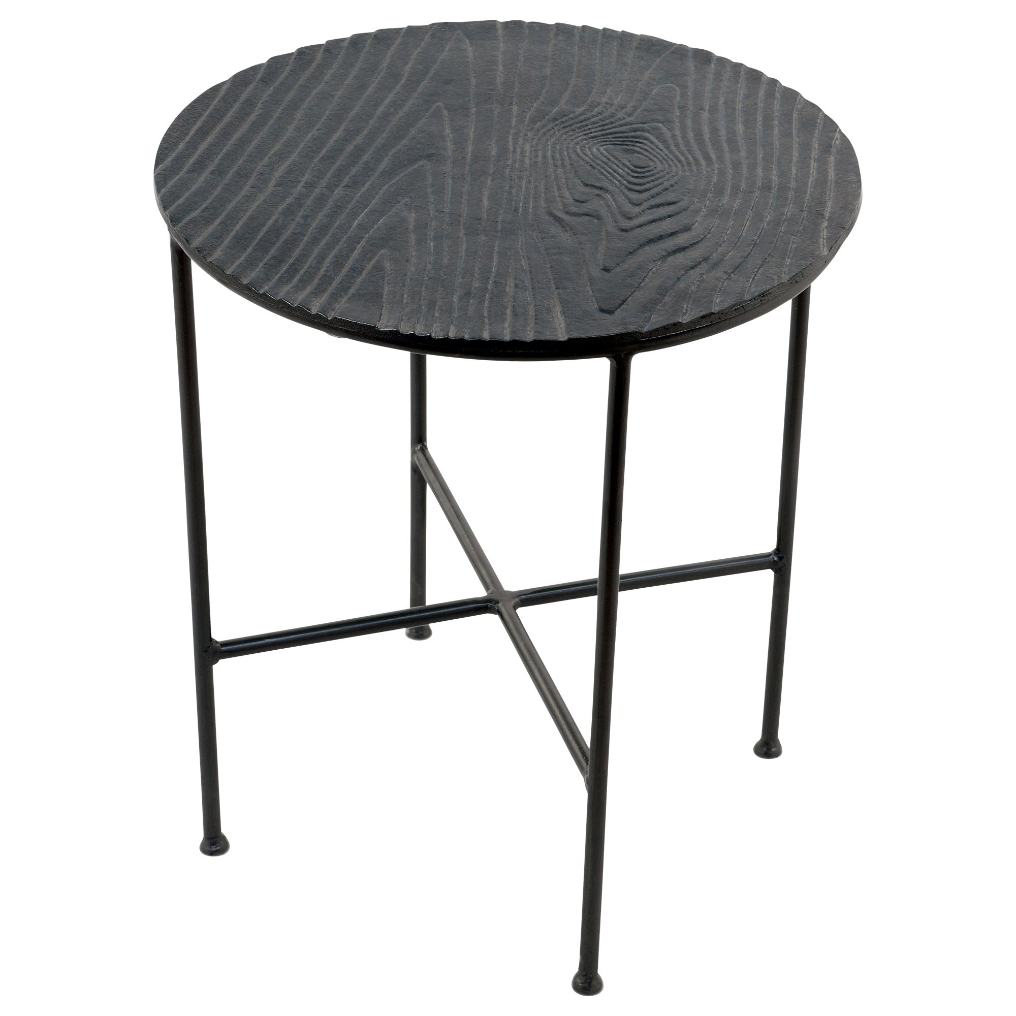renwil bale grey aluminum round accent table free shipping safavieh janika off white today demilune clearance wicker outdoor furniture daybed metal stools target bedside tables