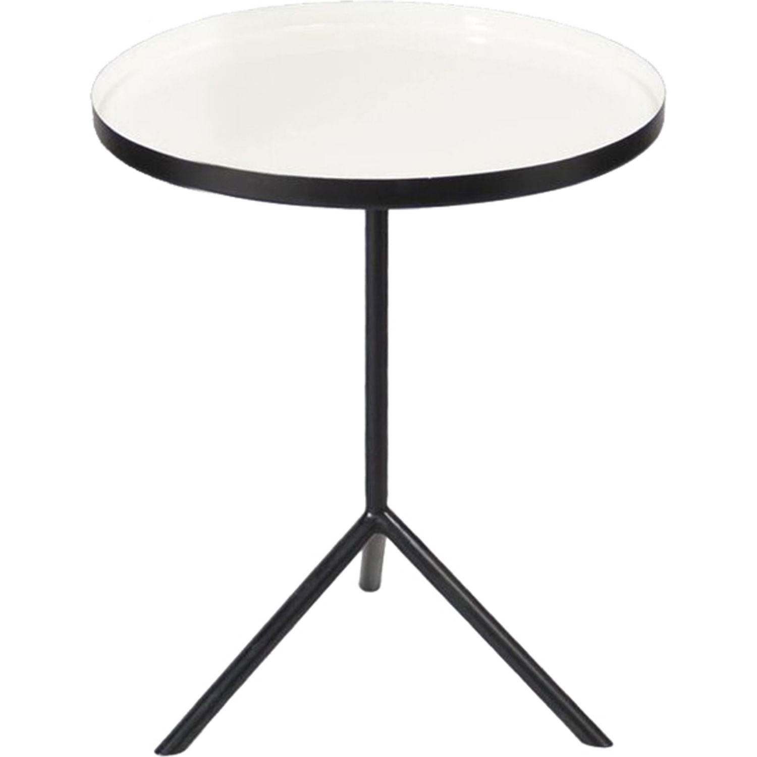 renwil chana round accent table white gloss black iron dining seats tall room sets barn door pantry skinny side ikea balcony and chairs kitchen large ginger jar lamps square