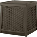 resin storage furniture patio end table wicker outdoor side with and backyard accent black white dining room target sofa screen porch asian lamps designer coffee tall tables for 150x150