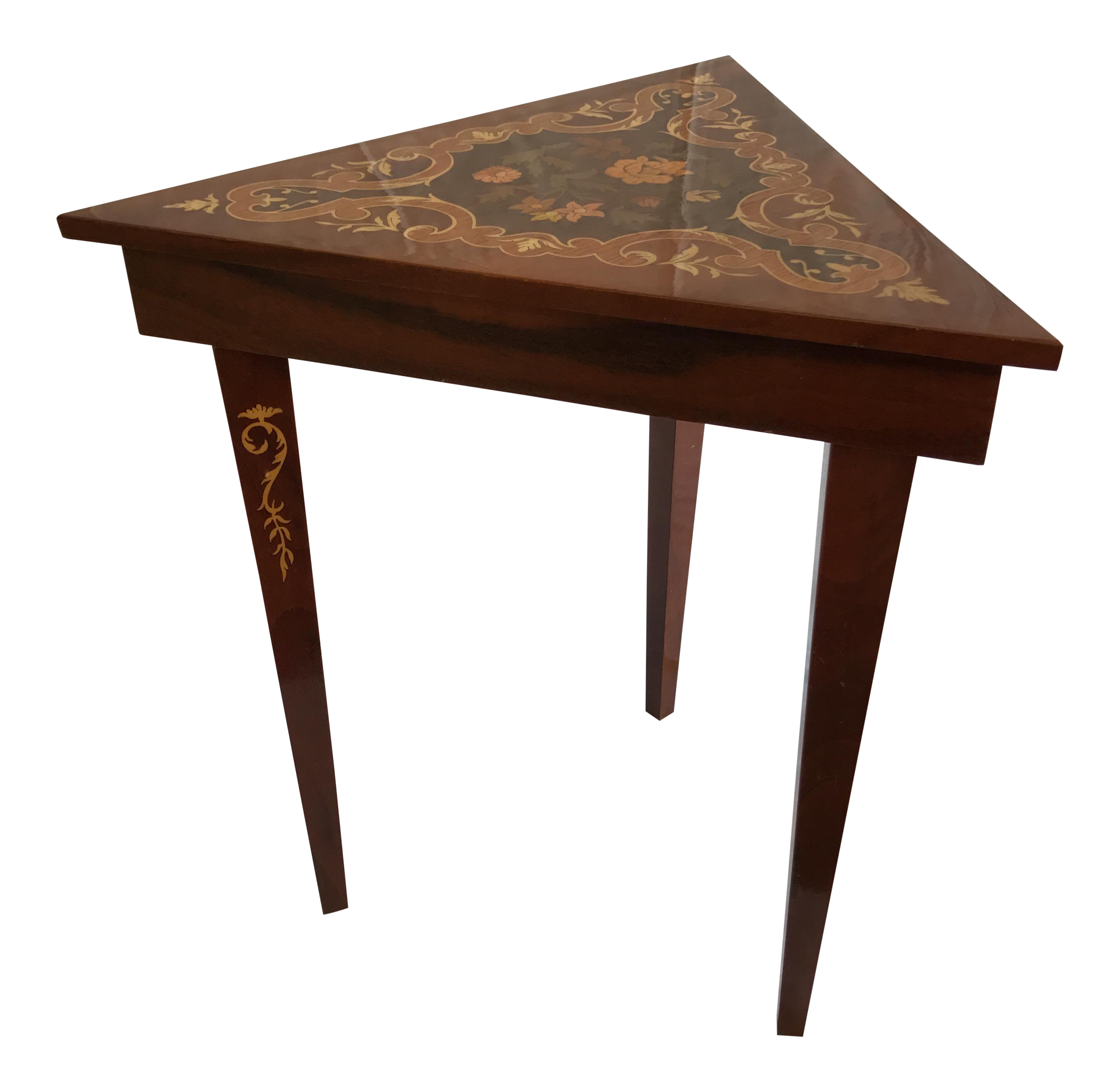 reuge italian music box side table chairish kade accent patio dining sets ikea wall cabinets bedroom bird little lamp tablecloth for inch round industrial hairpin legs west elm