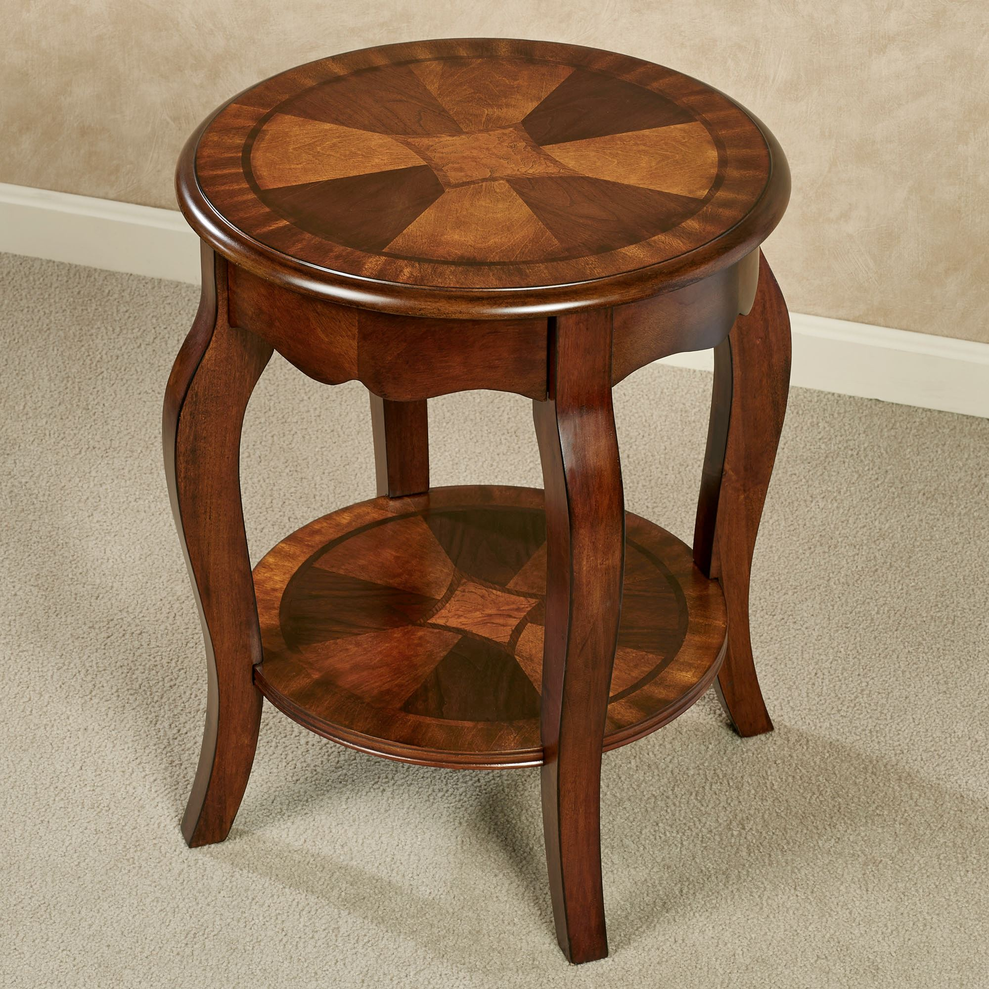 rhylen round wooden accent table wood classic cherry touch zoom canadian tire dining chairs coffee pier one headboards furniture design entry for small spaces vintage sofa designs