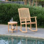 richmond teak rocking chair side table cambridge casual outdoor accent this smart bundling and from the collection tall hallway cabinet sheesham wood off white end reclining 150x150