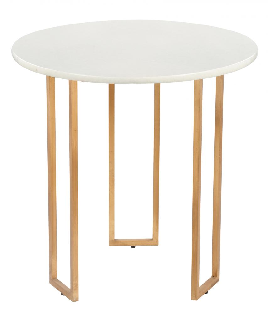 rico accent table harbour lighting boutique mariana home gold and white metal marble modern classic glamour clip lamp outdoor wicker chairs sideboards buffets decor sites farm