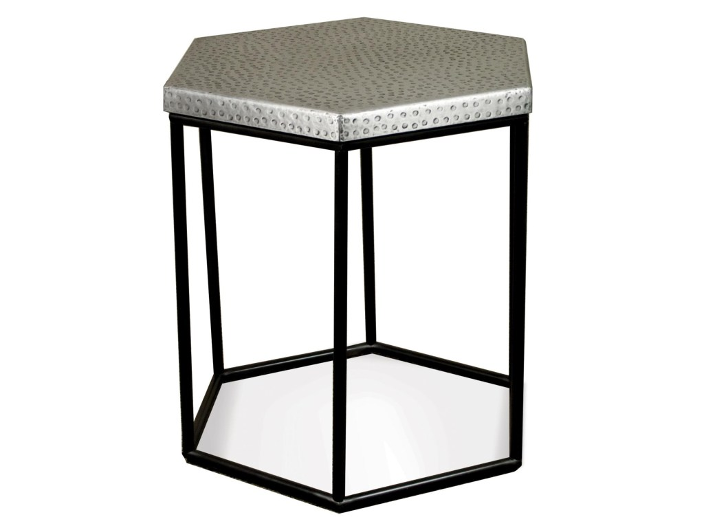 riverside furniture lyric industrial hexagon side table dunk products color threshold accent bright end tables ashley website round windham tall gold pine drawing room heavy duty