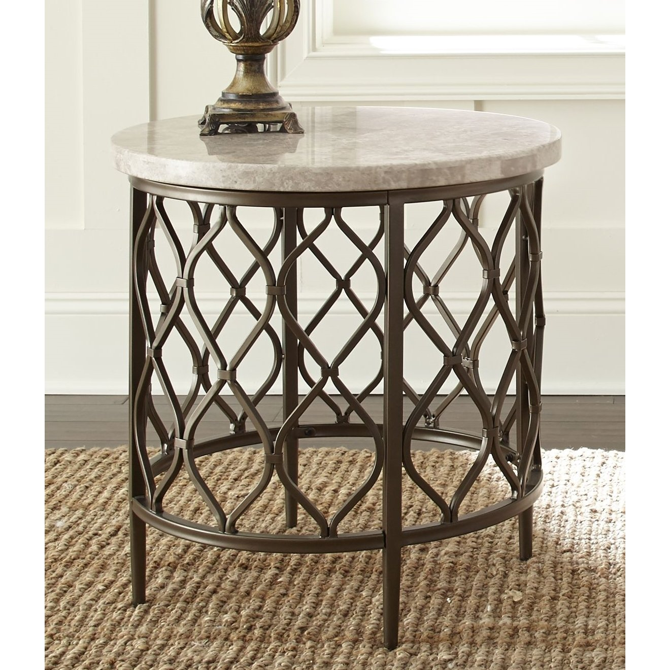 rockvale stone top round end table greyson living free outdoor mosaic accent shipping today bar height patio furniture unique rustic tables lift coffee dale home crystal lamp