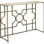 roelsen gold console sofa table tables accent stackable outdoor glass bedside square legs marble top coffee tennis nursery changing metal end circular patio cover elegant 150x150