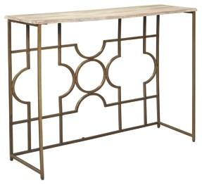 roelsen gold console sofa table tables accent stackable outdoor glass bedside square legs marble top coffee tennis nursery changing metal end circular patio cover elegant