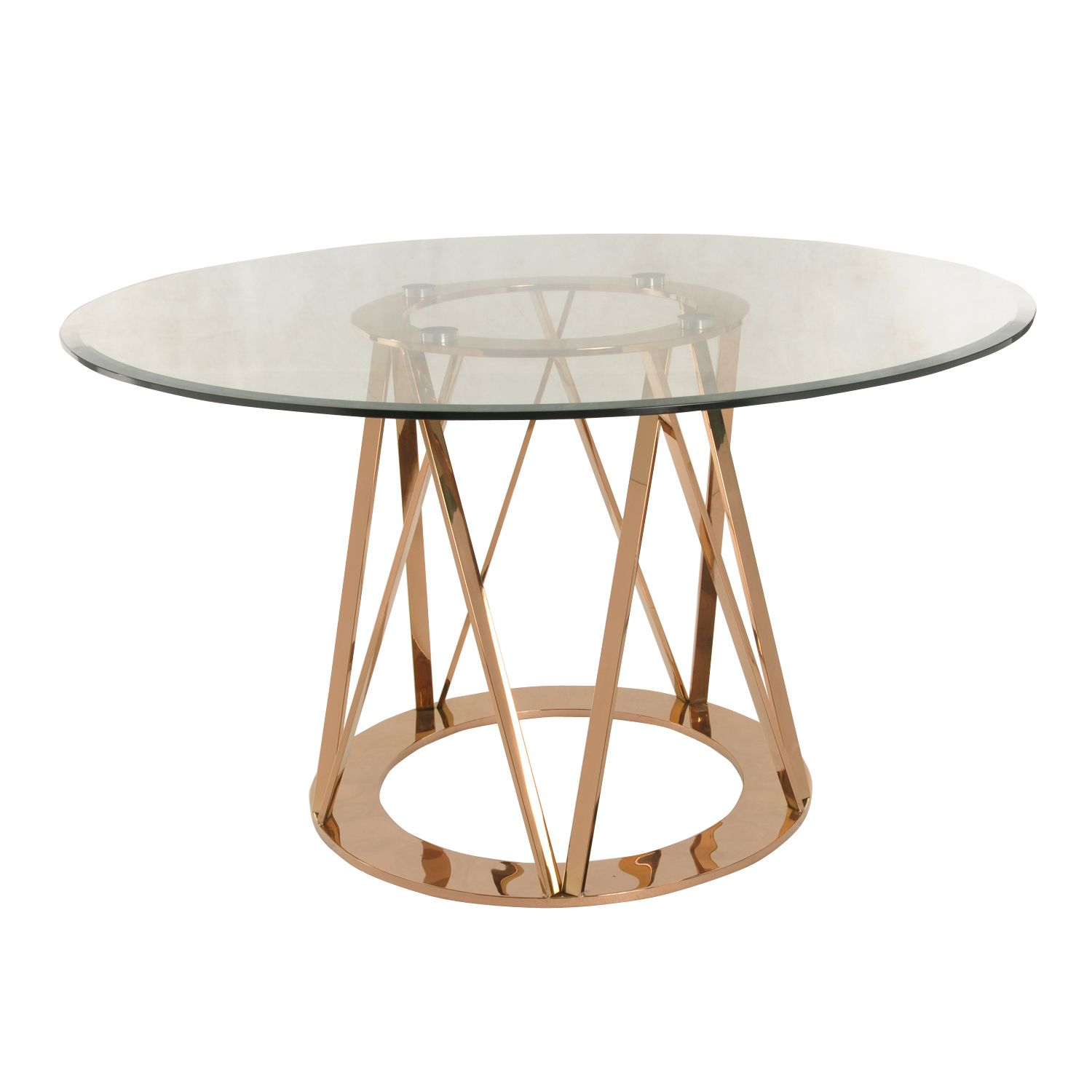 rolin round dining table rose gold npd lvmkt summer antique faceted accent with glass top what console room essentials lamp kitchen and chairs small zebi lawn couch end tables