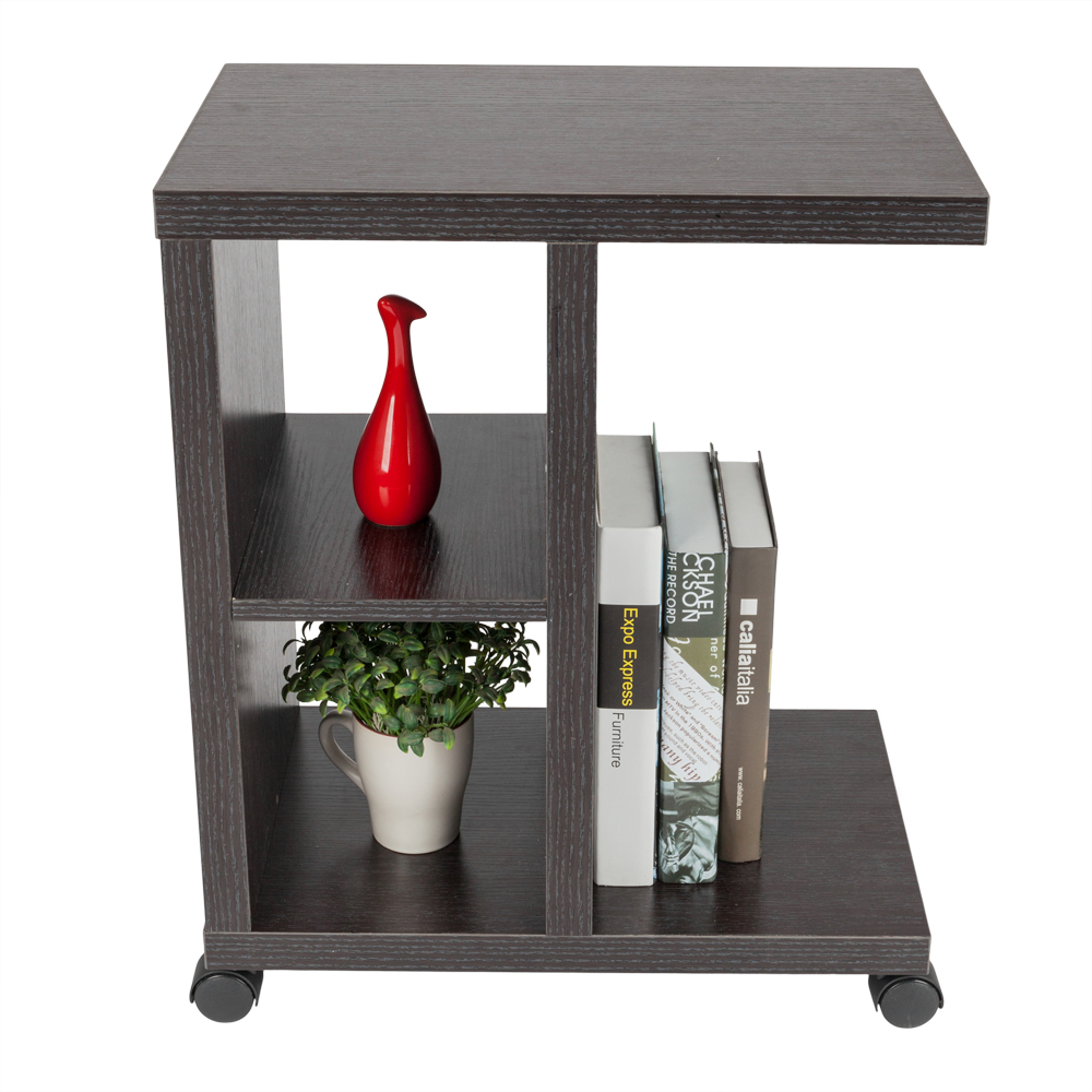 rolling accent tables side end table with storage shelf and wheels small kitchen clear acrylic trunk coffee metal outdoor adjustable beds elm console bunnings seat cushions