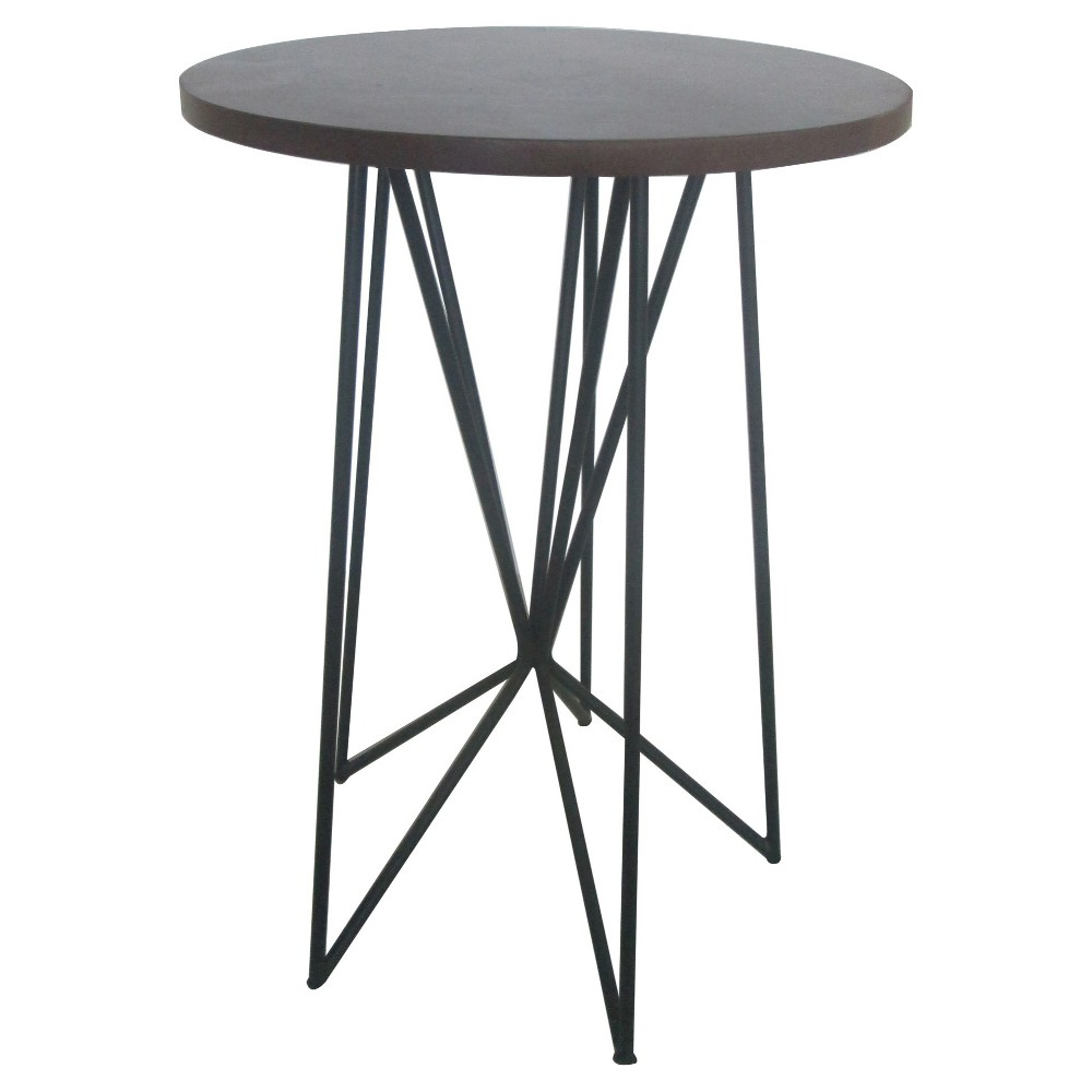 room essentials accent table design ideas hairpin walnut upc mixed material tablecloth for square house interior rustic metal kitchen small counter lamps side with lamp attached