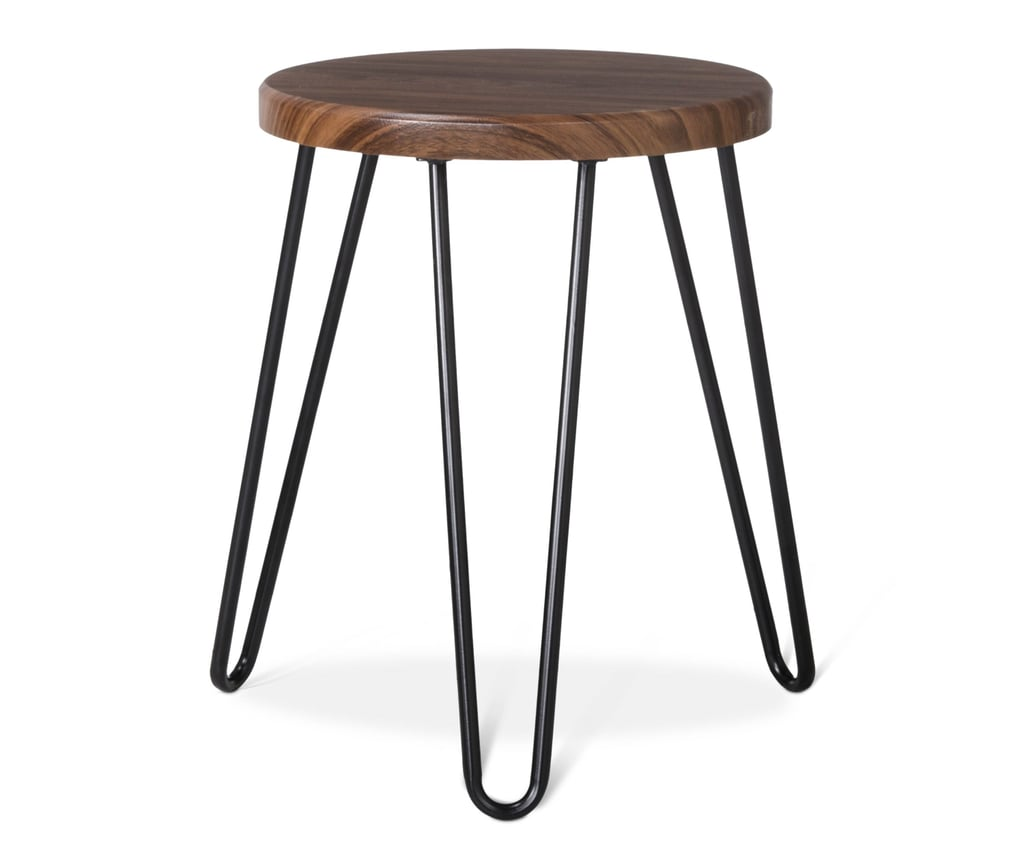 room essentials hairpin stool walnut target dorm decor accent table drum throne pearl small counter lamps rustic antique drop leaf value nautical themed gifts unstained furniture