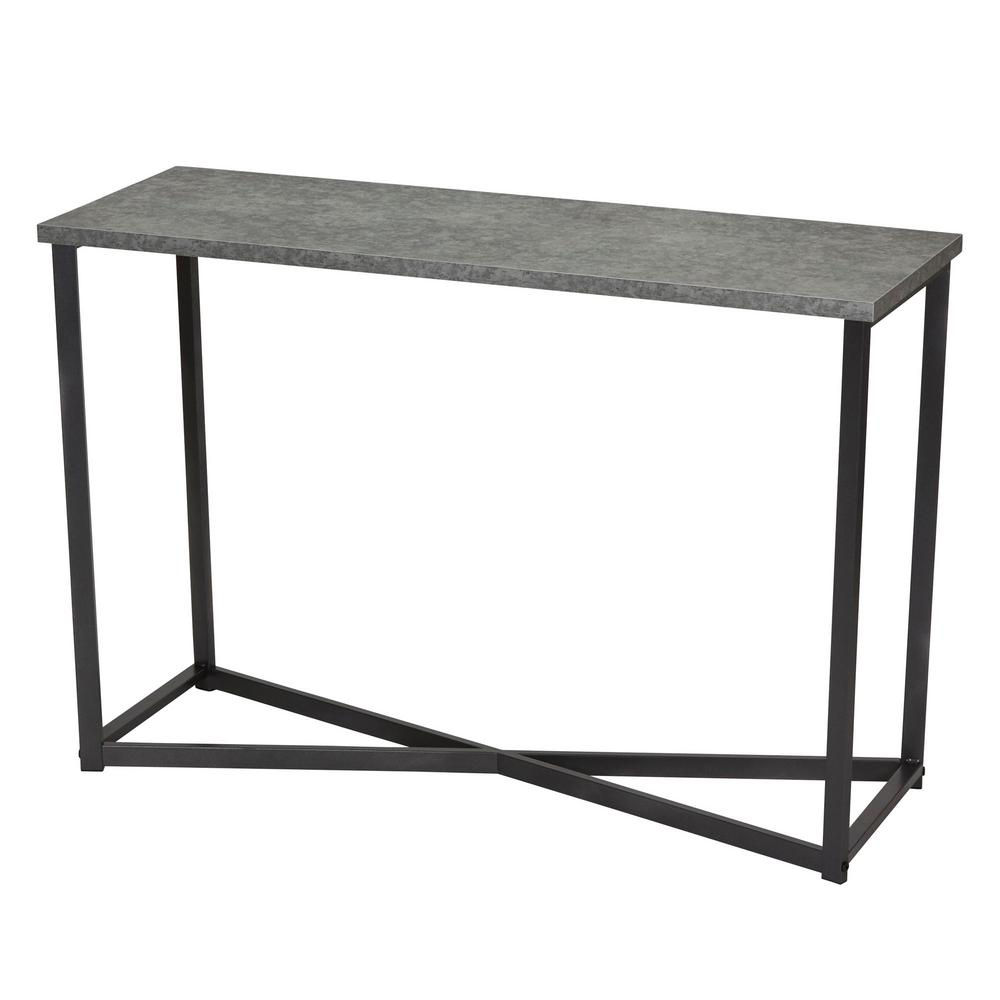 room essentials wire accent table tops concrete household console tables white slate faux sofa mirrored nightstand waterproof cover outdoor knotty pine bar stools solid wood entry